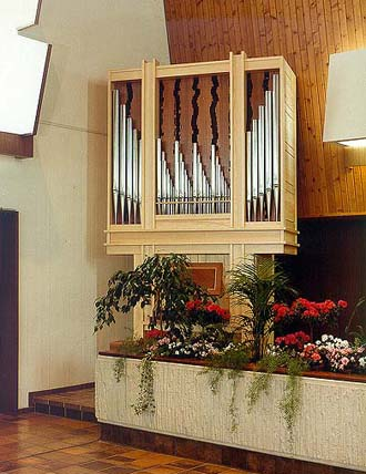 Waldfriedhof, Singen [Mönch-Orgelbau Überlingen: ORGEL-DISPOSITION]